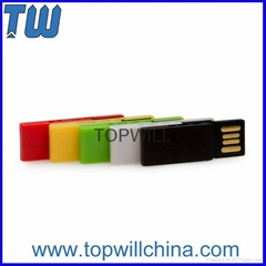 Plastic Paper Clip Usb Flash Drives 2GB 4GB 8GB 16GB 32GB Free Shipment