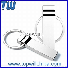 Solid Metal Usb 3.0 Flash Drive 8GB 16GB 32GB with Free Key Ring