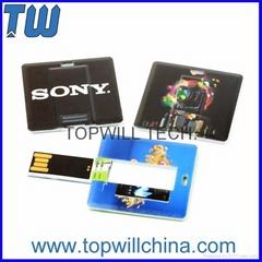 Square Card USB Pen Drive Free Printing 2GB 4GB 8GB 16GB 32GB