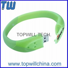Fashion Wristband USB Fl