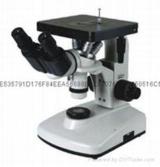 双目倒置金相显微镜4XB