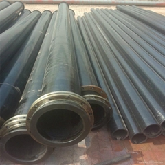 slurry pipe uhmwpe mining pipe