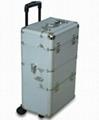 訂做鋁合金拉杆箱  工具箱