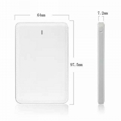 4000mah Ultra Slim Mobile Phone Backup Battery Power Bank Portable Charger
