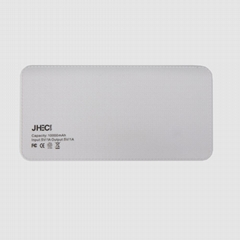 High Capacity Li-polymer External Rechargeable Battery 10000mAh Power Bank