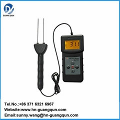 MS7100C Cotton Bale Moisture Meter with Measuring range 5%-40%