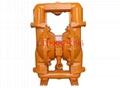 BQG礦用氣動隔膜泵