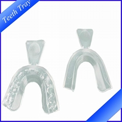 100% Food Grade Silicone teeth whitening thermoform dental mouth tray
