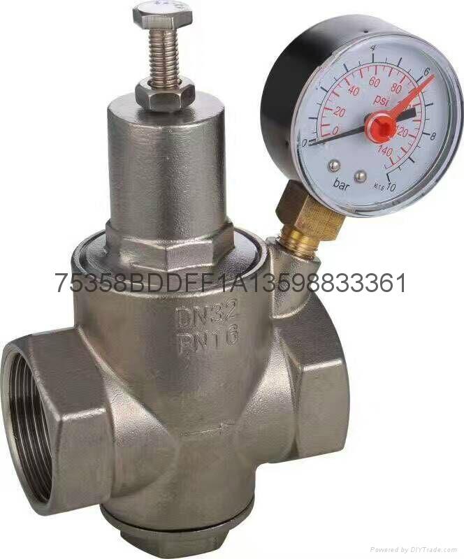 不鏽鋼支管減壓閥  1