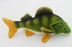 Custom make fish stuffed toys