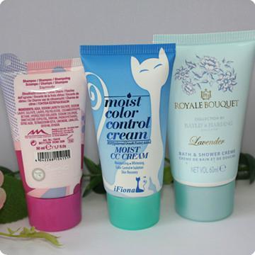 Various Size Cosmetic Plastic PE tube Hand Cream Tube 3