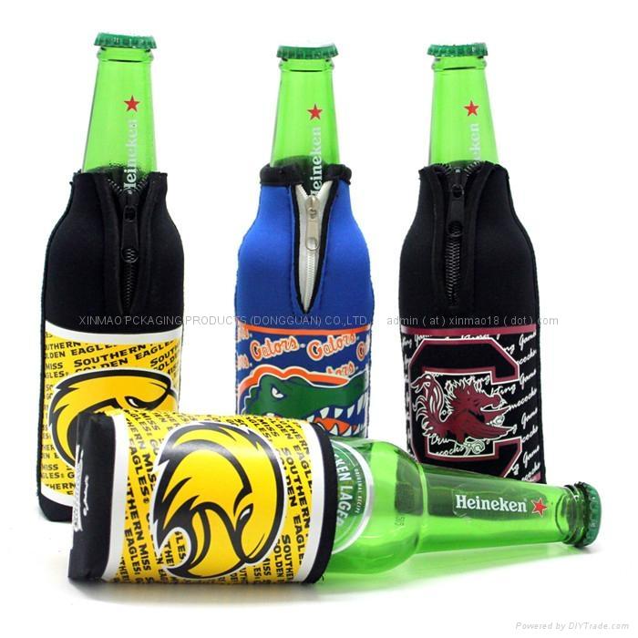 High Quality Neoprene Wine Bottle Cooler , bottle cover  1
