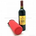 High Quality Neoprene Wine Bottle Cooler , bottle cover  2