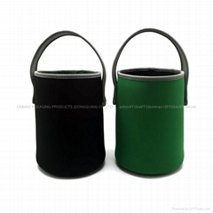 Neoprene 3 can of 700 Ml Beer cooler holder bag