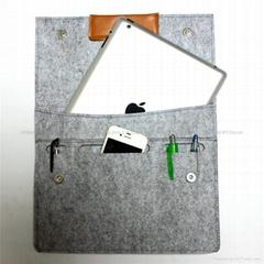 2016 new wool felt laptop sleeve for IPAD