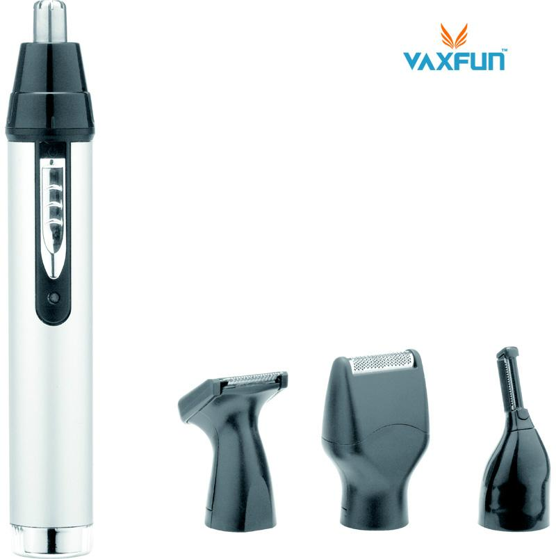 4in1 aluminum shell rechargeable beard nose trimmer set vn 3005 vaxfun feichiang oem. Black Bedroom Furniture Sets. Home Design Ideas