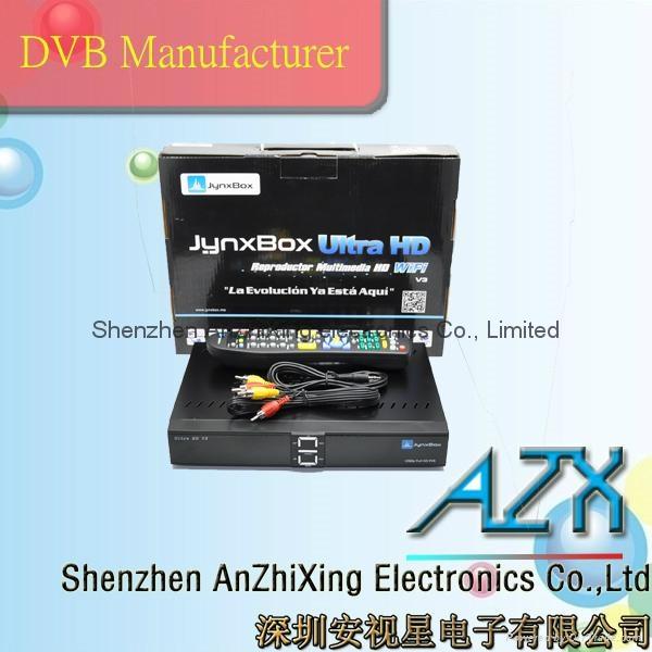 JynxBox Ultra HD V3 Satellite Receiver 6