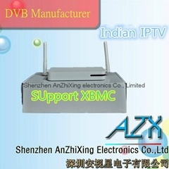 android tv box iptv receiver indian