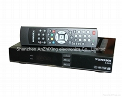 dvb s2 set top box jeferson x-003+ hd dvb s2 satellite