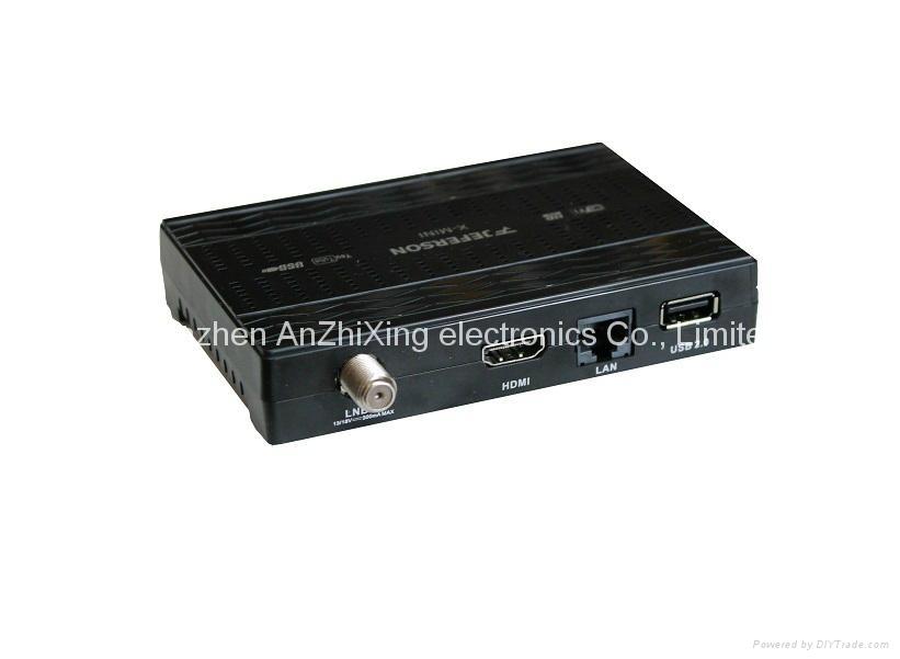 dvb s2 usb tv tuner Jeferson X-MINI dvb-s digital tv box 1