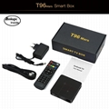 New model T96 mars 1+8 gb hd network player android 7.1 set top box