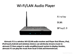 Wifi audio receiver/player Airmusic(P2)