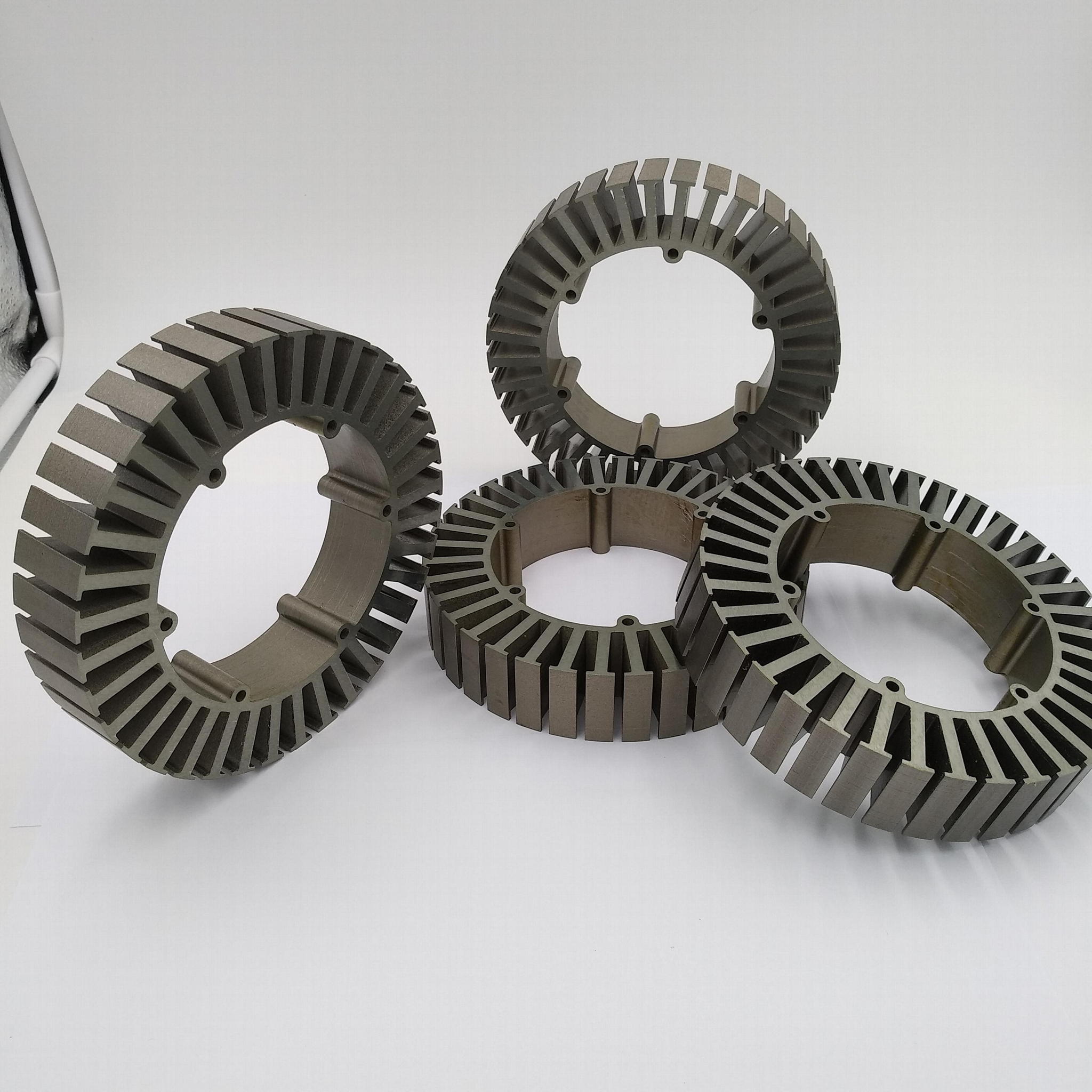 stator bonding lamination for electric car and electric motorcycle hub motors 2