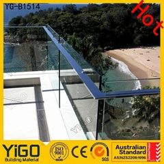 Glass balustrade and Stainless Steel Railing System