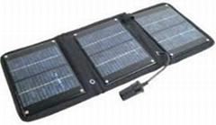 12 watt folding solar panel charger for 12 volt battery