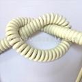 Fire Resistant PUR Spiral Cable UL20234 UL20235 UL20236 UL20254