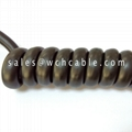 Low Voltage TPU Spiral Cable UL20554