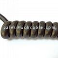Low Voltage TPU Spiral Cable UL20554 UL20563 UL20567 UL20640
