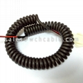 Electronic Retractable TPU Spiral Cable
