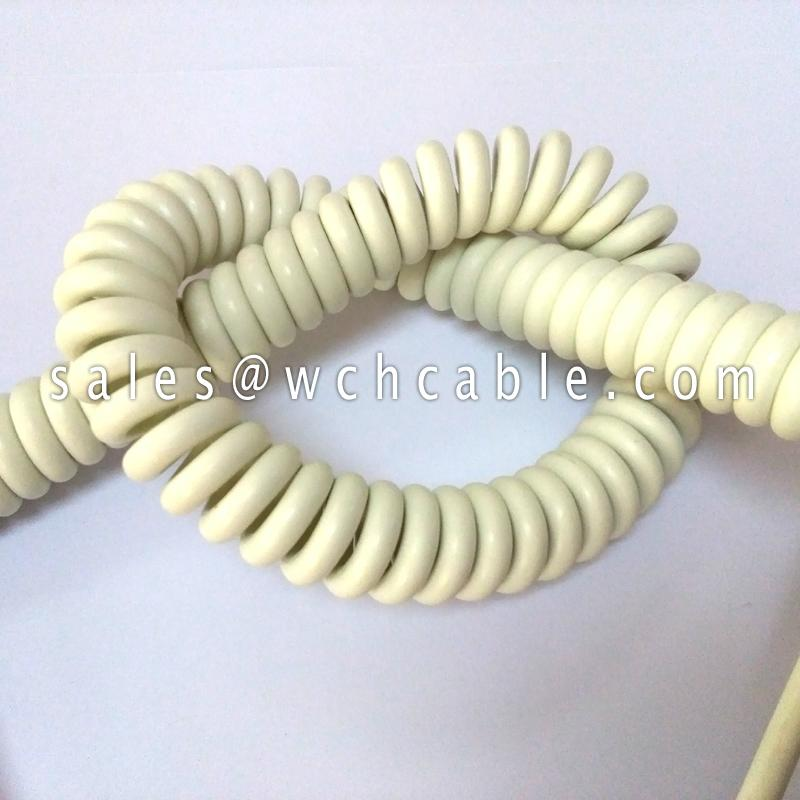 PWIS Free Retractable Spiral Cable UL20280