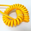Weather Resistant Curly Spiral Cable UL20152