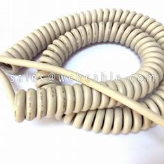 Retractable Spring Cable