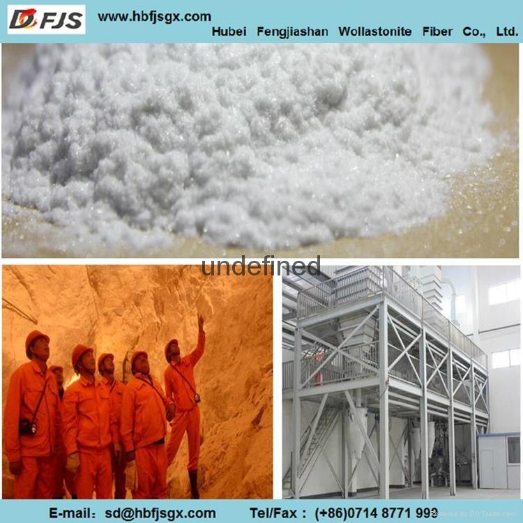 wholesale Fengjiashan WFA80 Ultra-long wollastonite Fiber 3