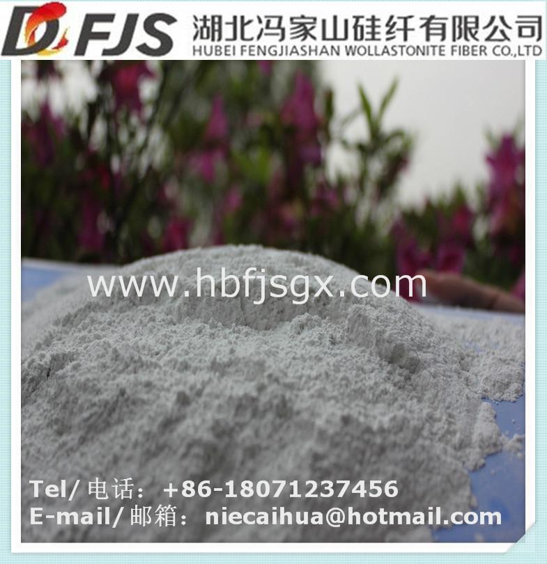 supply hubei daye fengjiashan WFB ultrafine wollastonite 5