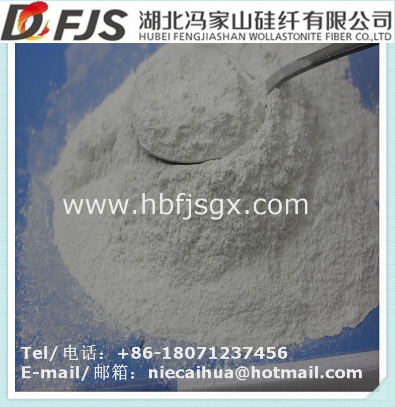 wholesale FENGJISHAN surface treated wollastonite powder 1