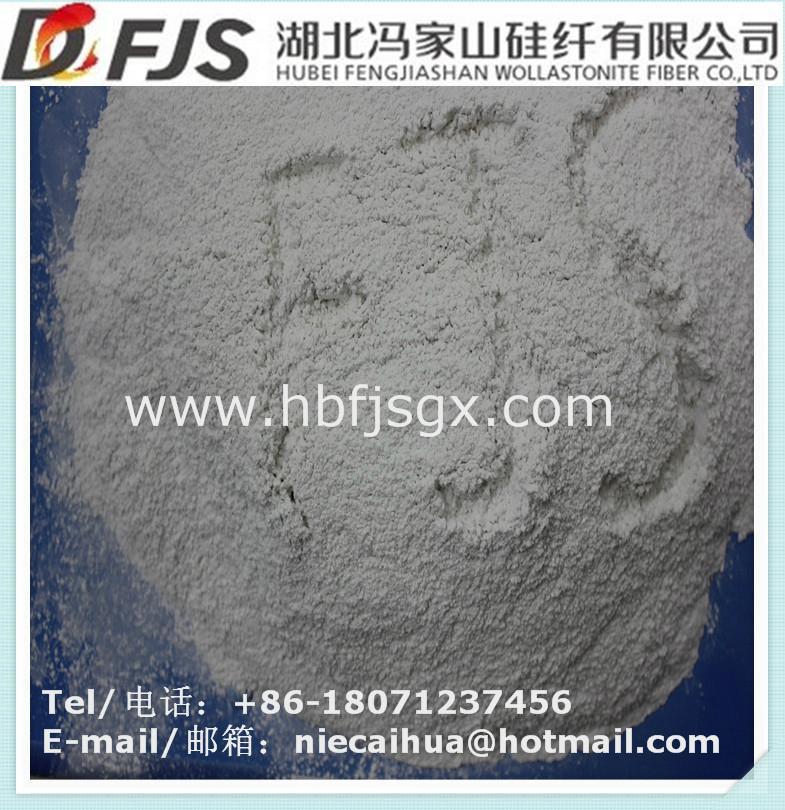 wholesale FENGJISHAN surface treated wollastonite powder 5