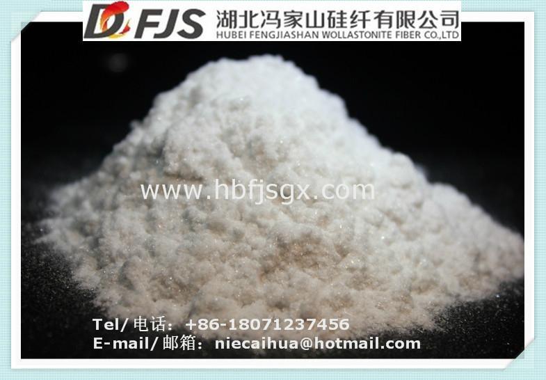 批發供應馮家山硅灰石原礦粉粉 2