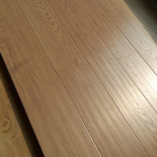 12mm plank V groove paint small embossed laminate flooring 2