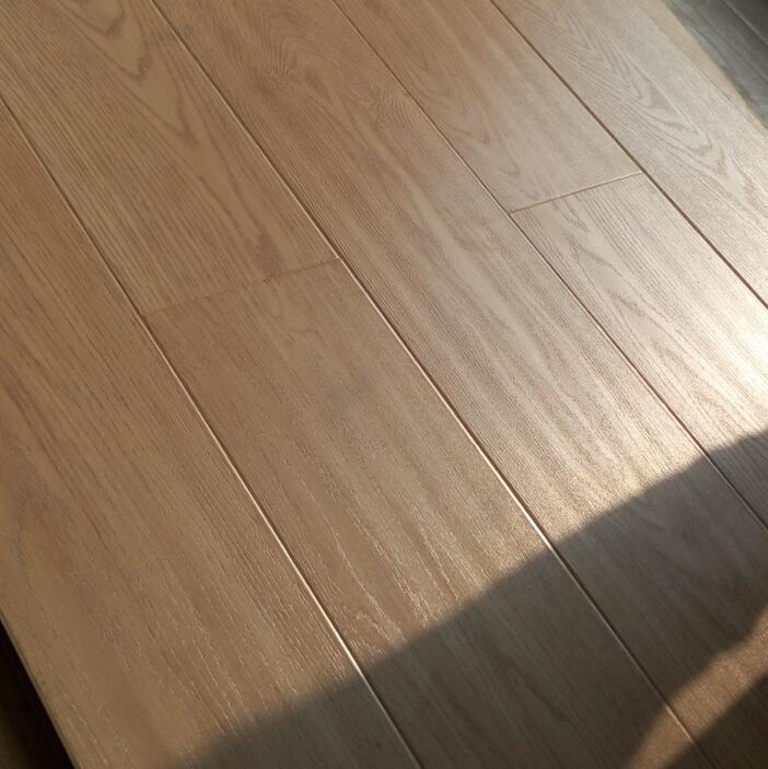 12mm plank V groove paint small embossed laminate flooring 3