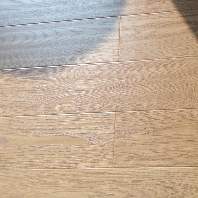 12mm plank V groove paint small embossed laminate flooring 4