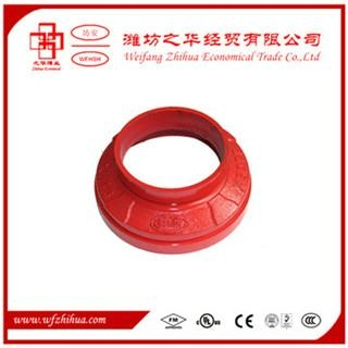 FM UL approval ductile iron grooved pipe fittings 3