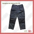 multi pocket Cordura fabric cargo pants work pants