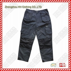 multi pocket Cordura fabric cargo pants work pants