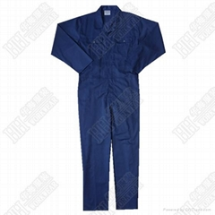 Navy workwear coverall
