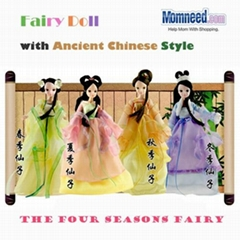 Ancient Chinese Doll Four Seasons Fairy