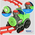 Wacky Train with Curvy Track Tumble Train with Lights Music Vehicle Toys for Chi 3